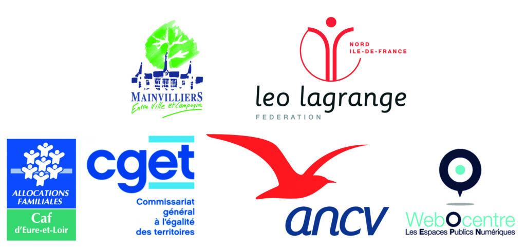 Ville de Mainvilliers; fédération Léo Lagrange Nord Ile de France; CAF; CGET; ANCV; WebOcentre